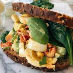 Southwestern Avocado Egg Salad